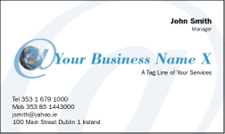 Business Card Design 489 for the MLM Industry.