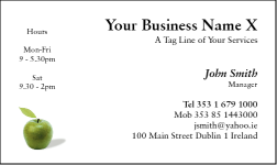 Business Card Design 493 for the Medical Industry.
