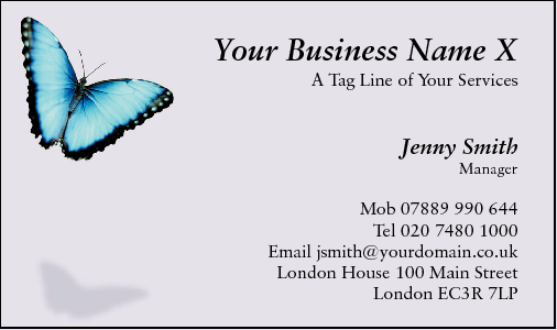 Business Card Design 494 for the Counselling Industry.