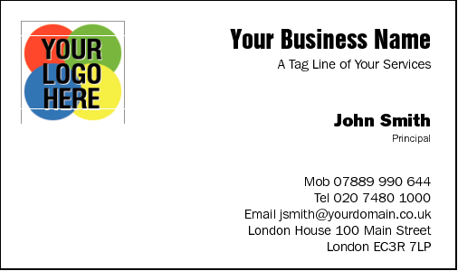 Business Card Design 289